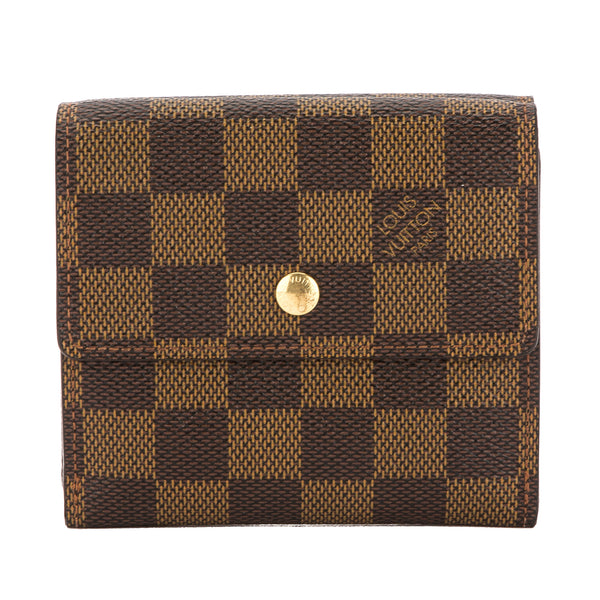Louis Vuitton Damier Ebene Canvas Elise Wallet (Pre Owned) - 3511014 ... 06fbc8008c602
