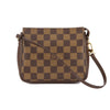 Louis Vuitton Damier Ebene Canvas Trousse Cosmetic Tote Bag (Pre Owned)