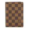 Louis Vuitton Damier Ebene Canvas Couverture Passport Cover (Pre Owned)