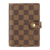 Louis Vuitton Damier Ebene Canvas Agenda PM Cover (Pre Owned)
