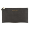 Michael Kors Black Venus Leather Bedford Large Zip Wristlet (New with Tags)
