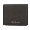 Michael Kors Black Saffiano Leather Jet Set Travel Card Holder (New with Tags)