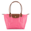 Longchamp Peony Nylon Canvas Le Pliage S Long Strap Bag (New with Tags)