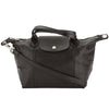 Longchamp Black Metis Leather Le Pliage Cuir S Top Handle Bag (New with Tags)