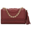 Tory Burch Port Royal Leather Micro Fleming Crossbody Bag (New With Tags)