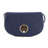 Tory Burch Navy Sea Leather Jamie Clutch (New With Tags)