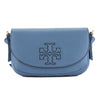 Tory Burch Blue Leather Harper Mini Cross-body Bag (New With Tags)