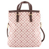 Louis Vuitton Cerise Monogram Mini Lin Canvas Francoise Bag (Pre Owned)