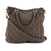 Louis Vuitton Fusain Monogram Mini Lin Canvas Besace Angele Bag (Pre Owned)
