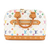 Louis Vuitton White Monogram Canvas Multicolore Alma Bag (Pre Owned)