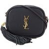 Saint Laurent Black Leather Monogram Blogger Bag (New with Tags)