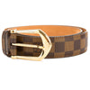 Louis Vuitton Damier Ebene Canvas San Tour Classic Belt (Pre Owned)