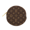 Louis Vuitton Monogram Canvas Porte-Monnaie Ronde Coin Case (Pre Owned)