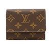 Louis Vuitton Monogram Canvas Business Card Holder (Pre Owned)