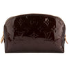 Louis Vuitton Amarante Monogram Vernis Leather Cosmetic Pouch (Pre Owned)