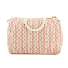Louis Vuitton Rouge Monogram Mini Lin Croisette Canvas Speedy 30 Bag (Pre Owned)