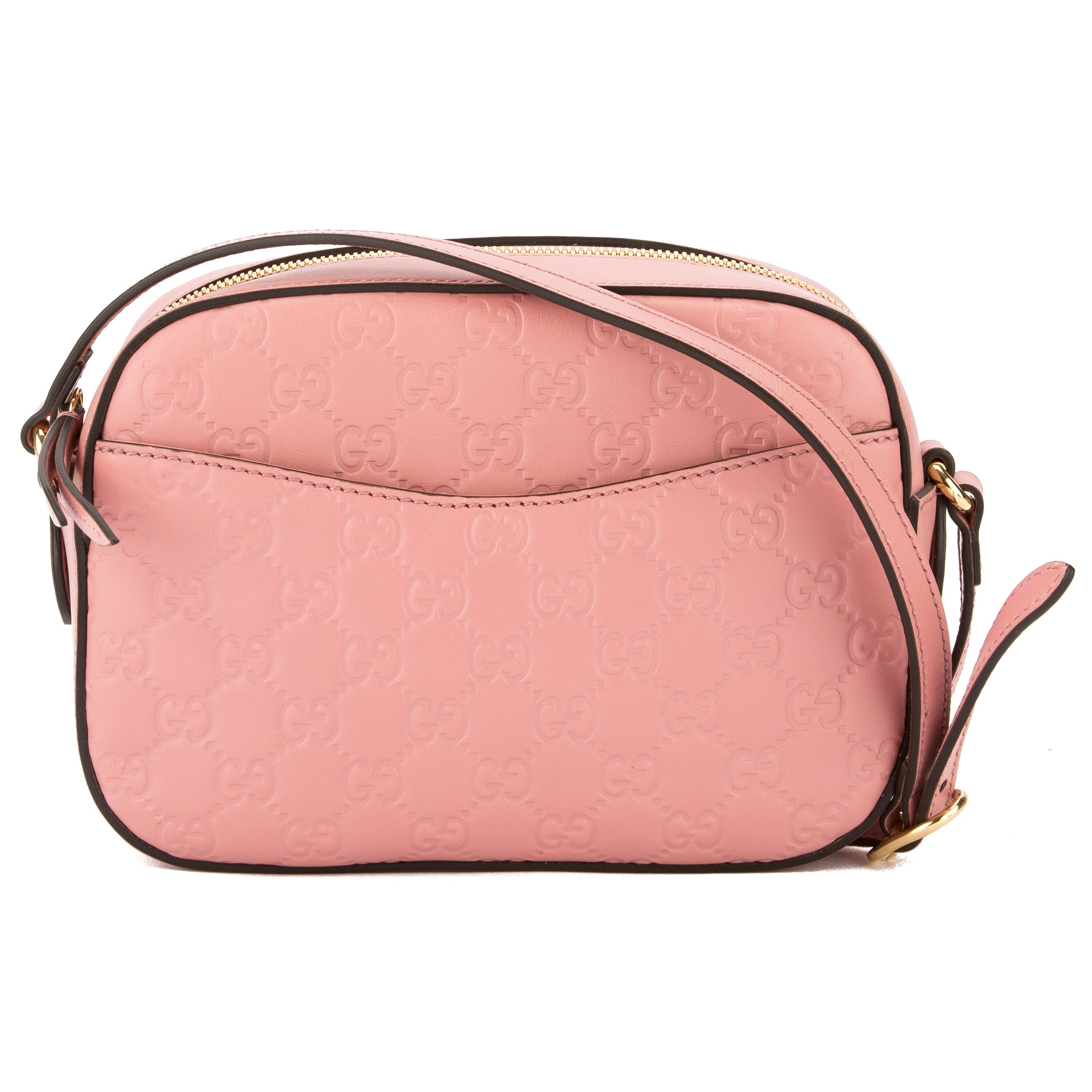 6aa48d29821 Gucci Pink Signature Leather Shoulder Bag (New with Tags) - 3544011 ...