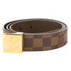 Louis Vuitton Damier Ebene Canvas LV Paris Belt (Pre Owned)