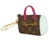 Louis Vuitton Purple and Light Blue Monogram Canvas Porte Cles Speedy BB Bag Charm (Pre Owned)