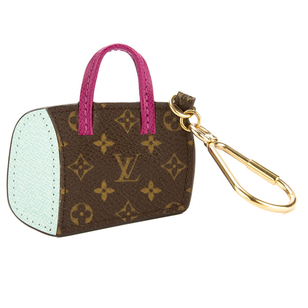 louis vuitton purple and light blue monogram canvas porte. Black Bedroom Furniture Sets. Home Design Ideas