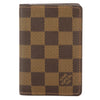 Louis Vuitton Damier Ebene Canvas Pocket Organiser (Pre Owned)