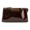 Louis Vuitton Amarante Monogram Vernis Leather Trousse Cosmetic Pouch (Pre Owned)