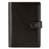 Louis Vuitton Noir Epi Electric Leather Agenda PM Cover (Pre Owned)