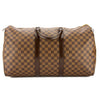 Louis Vuitton Damier Ebene Canvas Keepall 50 Boston Bag (Pre Owned)