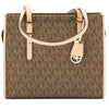 Michael Kors Mocha Monogram Canvas Darien Medium Logo Tote (New with Tags)