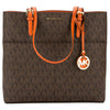 Michael Kors Signature Canvas Bedford Large Top Zip Tote (New with Tags)