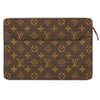 Louis Vuitton Monogram Canvas Pochette Homme Clutch Bag (Pre Owned)