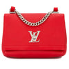Louis Vuitton Rubis Calf Leather Lockme II BB Bag (Pre Owned)