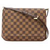 Louis Vuitton Damier Ebene Canvas Musette Tango Short Strap Bag (Pre Owned)