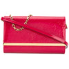 Louis Vuitton Indian Rose Monogram Vernis Leather Ana Chain Clutch Bag (Pre Owned)