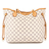 Louis Vuitton Damier Azur Canvas Neverfull MM Bag (Pre Owned)