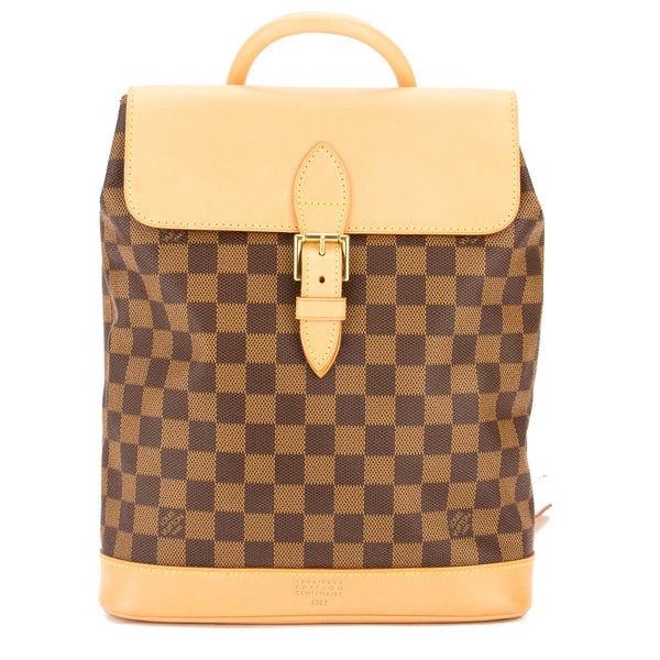 Louis Vuitton Damier Ebene Canvas Arlequin Centenarie Backpack (Pre Owned)