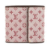 Louis Vuitton Sepia Monogram Mini Lin Canvas Trifold Wallet (Pre Owned)