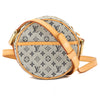 Louis Vuitton Blue Monogram Mini Lin Canvas Jeanne Bag (Pre Owned)