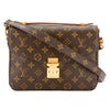 Louis Vuitton Monogram Canvas Pochette Metis Bag (Pre Owned)