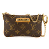 Louis Vuitton Monogram Canvas Pochette Milla Bag (Pre Owned)