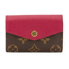 Louis Vuitton Monogram Canvas Sarah Multicartes Card Case (Pre Owned)
