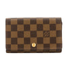 Louis Vuitton Damier Ebene Canvas Porte-Tresor Wallet (Pre Owned)