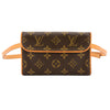 Louis Vuitton Monogram Canvas Florentine Pochette Bum Bag (Pre Owned)