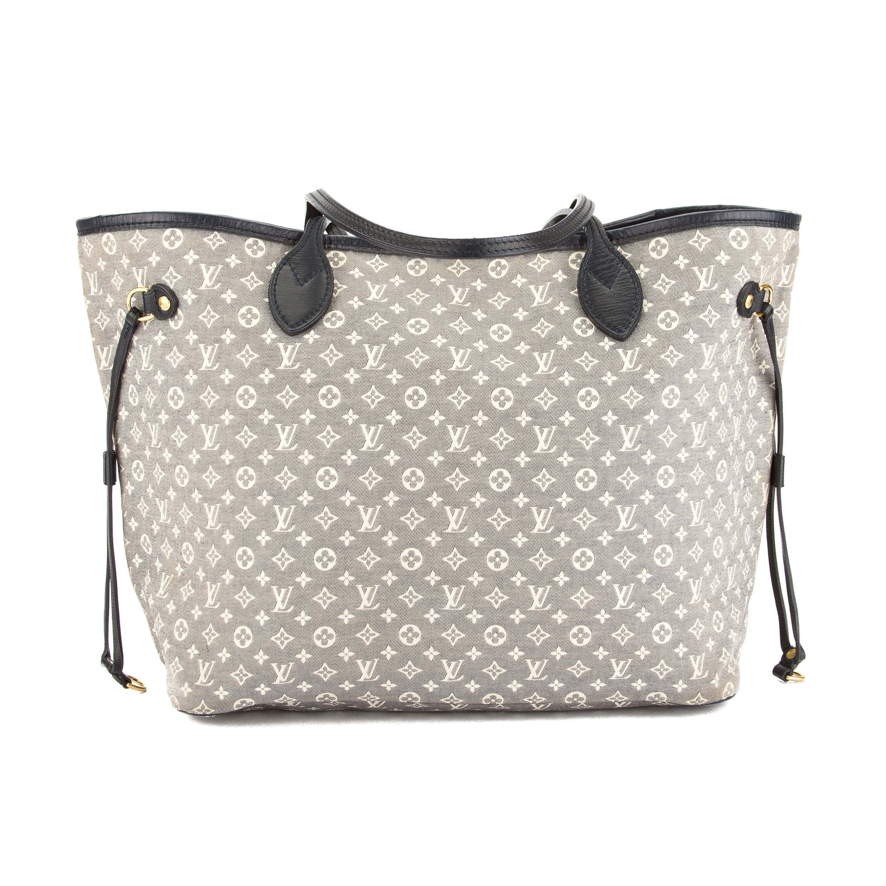 e26f4c6adbef Louis Vuitton Encre Monogram Idylle Canvas Neverfull MM Bag Pre Owned
