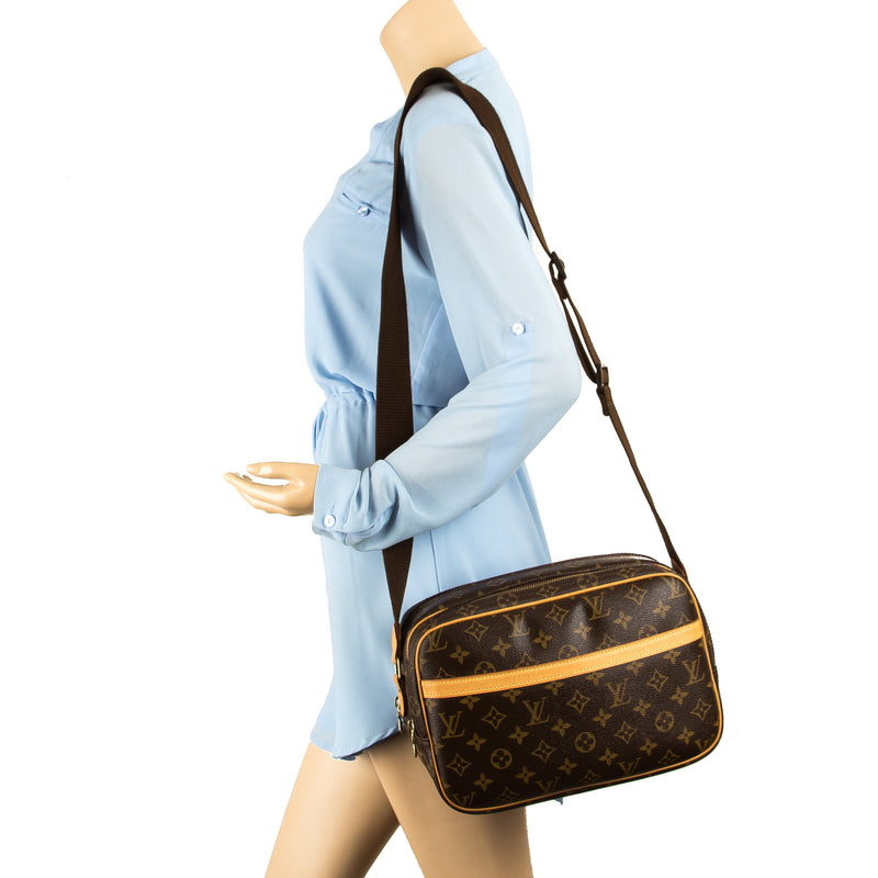 Louis Vuitton Monogram Canvas Reporter PM Bag (Pre Owned)