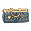 Louis Vuitton Blue Monogram Denim Neo Speedy Bag (Pre Owned)