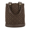 Louis Vuitton Ebene Monogram Mini Lin Canvas Petit Bucket Bag (Pre Owned)
