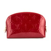 Louis Vuitton Pomme D'Amour Monogram Vernis Leather Cosmetic Pouch (Pre Owned)