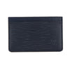 Louis Vuitton Indigo Epi Leather Simple Card Holder (Pre Owned)