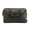 Gucci Black Soft Signature Leather Top Handle Bag (New with Tags)